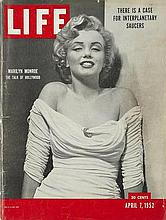 MARILYN MONROE APRIL 7TH 1952 LIFE MAGAZINE.