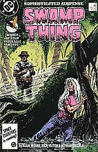 SWAMP THING NO 54 2ND SERIES -THE FLOWERS OF ROMANCE.