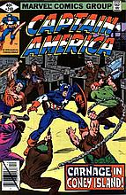 CAPTAIN AMERICA VOL 1 240 - GANG WARS!