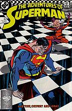 SUPERMAN VOL 1 441 - THE TINY TERROR OF TINSELTOWN.