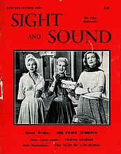 SIGHT AND SOUND JAN-MARCH 1954 CHARLIE CHAPLIN MAGAZINE.
