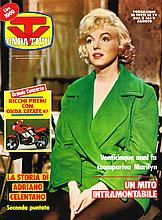 MARILYN MONROE - TV ONDA TIVA 1987 ITALLIAN MAGAZINE.