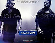 MIAMI VICE UK 2006 QUAD POSTER 30 x 40 INCHES