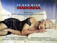 IN BED WITH MADONNA POSTER.