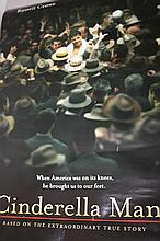 RUSSELL CROWE SIGNED CINDERELLA MAN POSTER.