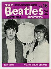 THE BEATLES MONTHLY BOOK NUMBER 16 MONTHLY NOVEMBER 1964