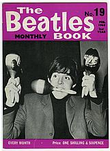 THE BEATLES MONTHLY BOOK NUMBER 19 FEB 1965.