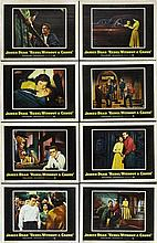 REBEL WITHOUT A CAUSE FULL SET OF 1955 LOBBY CARDS.