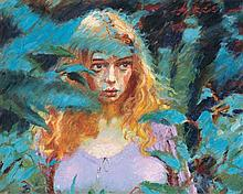TESSA THROUGH THE BLUE GUMS - ROLF HARRIS SIGNED PRINT.