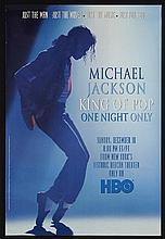 MICHAEL JACKSON: HBO ONE NIGHT ONLY MEMORABLIA.