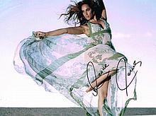 LEONA LEWIS SIGNED PHOTO.