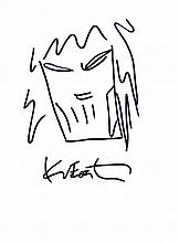 KEVIN EASTMAN DRAWING: TEENAGE MUTANT NINJA TURTLE.
