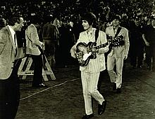 A COLLECTION OF THE BEATLES AT SHEA STADIUM 1965 PHOTOS.