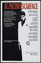 SCARFACE ORIGINAL 1983 MOVIE POSTER. 27X41 INCHES.