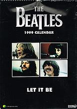 THE BEATLES OFFICIAL 1999 LET IT BE CALENDAR SEALED
