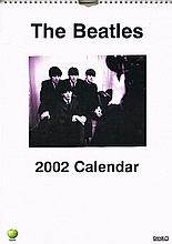 SEALED THE BEATLES OFFICIAL 2002 APPLE CALENDAR