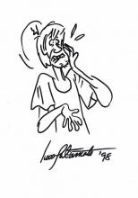 IWAN TAKAMOTO: DRAWING OF SHAGGY.