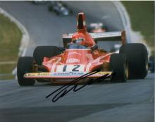Niki lauda signed photo.