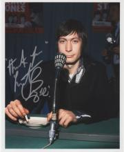 ENGLAND: CHARLIE WATTS SIGNED PHOTO.