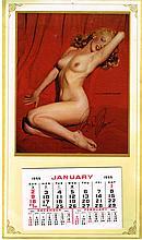 MARILYN MONROE SIGNED GOLDEN DREAMS CALENDAR.