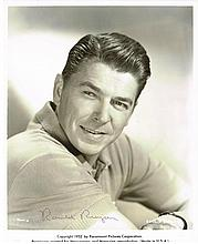 RONALD REAGAN 1952 SIGNED PROMO PHOTO.