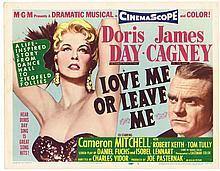 JAMES CAGNEY: TITLE LOBBY CARD 'LOVE ME OR LEAVE ME' R62.