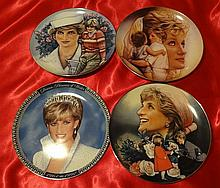 PRINCESS DIANA FRANKLIN MINT COMMEMORATIVE PLATES.
