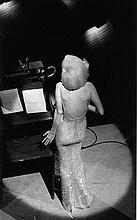 MARILYN MONROE IN 1962 AT JFK GALA. BILL RAY SIGNED SILVER GELATIN PRINT. 16X20 INCHES.