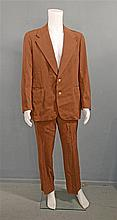Dean Martin's Suit, a brown two-piece Polo Ralph Lauren suit tailored for the Rat Pack member, owned and worn by him