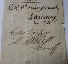 American Revolution Signed By Marinus Willet New York.