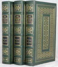 Winston S. Churchill War Speeches 1939 – 45 in Three Volume Signed Leaf