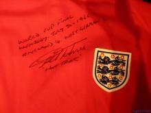 Geoff Hurst Signed England World Cup Shirt 1966.