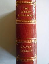 AGATHA CHRISTIE: THE SECRET ADVERSARY 1922 1ST EDITION 1ST PRINTING.