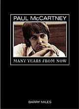 PAUL MCCARTNEY MANY YEARS FROM NOW HARDBACK BOOK