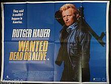 WANTED DEAD OR ALIVE MOVIE POSTER.