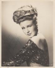 Ginger Rogers? signed photo.