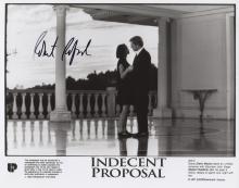 Indecent Proposal: Robert Redford signed photo.