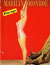 MARILYN MONROE 1953 PIN UPS MAGAZINE 1ST EDITION INCLUDING THE MARILYN SANS BRASSIERE IMAGE!