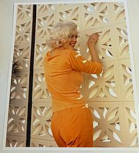 MARILYN MONROE GEORGE BARRIS PHOTOGRAPH.