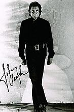 A JOHNNY CASH SIGNED PHOTO