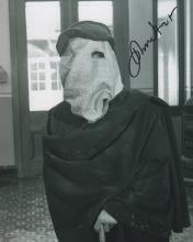 JOHN HURT SIGNED 'ELEPHANT MAN' PHOTO.