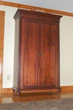 Mahogany Entertainment Cabinet