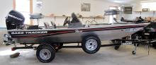 2011 Bass Tracker Boat, 40HP Motor & Trailer