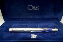 Omas of Italy Pen - Sterling Silver - Israel 50th Jubilee