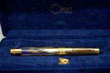 Omas of Italy Pen - Gold - Israel 50th Golden Jubilee