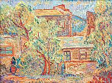 ALFRED GWYNNE MORANG (American 1901-1958) A PAINTING,