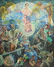 ANTONIO RAMIREZ (Mexican 1926-2010) A PAINTING,