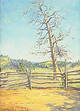 RUDOLPH GUZZARDI (American/Texas 1903-1962) A PAINTING,