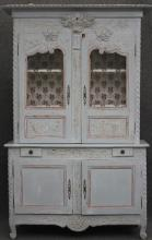 FRENCH PROVINCIAL CARVED HUTCH, 18TH CENTURY