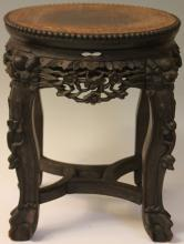 19TH CENTURY CHINESE ROSEWOOD SIDE TABLE